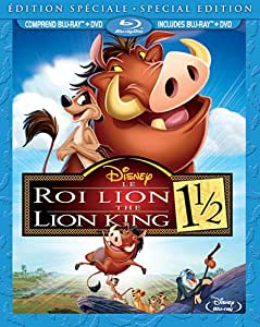The Lion King 1 1/2: Special Edition / Le Roi Lion 1 1/2 : Édition spécial (Bilingual) (Blu-ray Combo Pack) [Blu-ray + DVD]