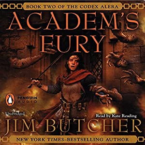 Academ's Fury: Codex Alera, Book 2 by Jim Butcher