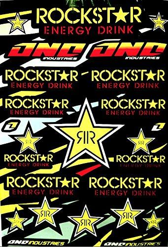 planche-de-23-autocollants-stickers-rockstar-energy-drink-one-industries-planche-de-45cm-x-30cm