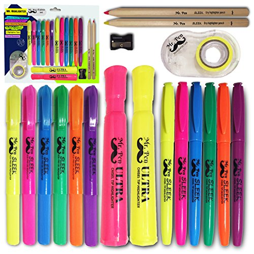 Assorted Color Highlighter Set