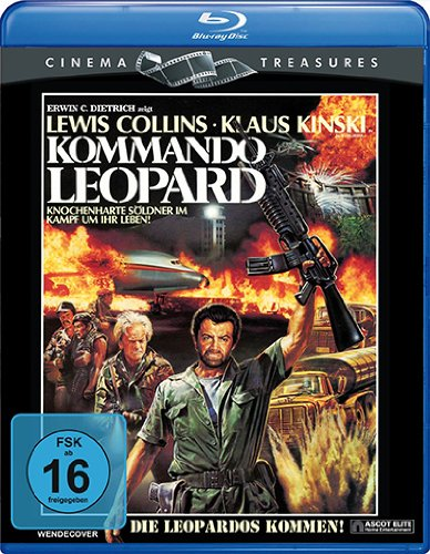 Kommando Leopard (Cinema Treasures) [Blu-ray]