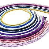 コーデが楽々30色シリーズ 手組み 正絹 帯締め 丸組 四つ丸組 Mサイズ・No.16/黄八丈色