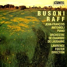 Busoni / Raff: Concertos