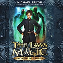 Moment of Truth (       UNABRIDGED) by Michael Pryor Narrated by Rupert Degas