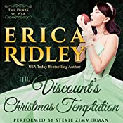 The Viscount's Christmas Temptation: Dukes of War, Book 1 | [Erica Ridley]
