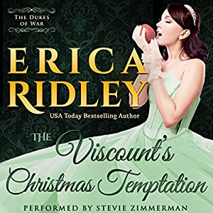 The Viscount's Christmas Temptation Audiobook