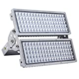 200W LED Flood Light Outdoor, Hugging LED Flood Lights, IP67 Waterproof, 6500K Cold White, 20000lm Super Bright Outdoor Flood Light for Garage, Porch, Garden,Warehouse (200watt) (Color: Cool White, Tamaño: 200W)