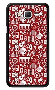 """Humor Gang Music Is My Life Printed Designer Mobile Back Cover For """"Samsung Galaxy j2"""" (3D, Glossy, Premium Quality Snap On Case)"""