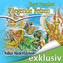 Fliegende Fetzen: Ein Scheibenwelt-Roman Hörbuch von Terry Pratchett Gesprochen von: Volker Niederfahrenhorst