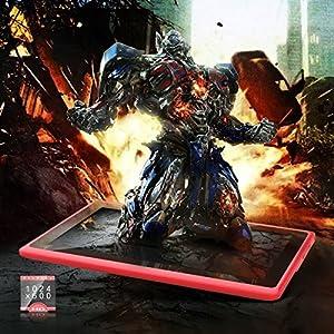 ProntoTec Axius Series Q9S 7 Inch Quad Core Allwinner A33 Cortex A7 Android 4.4 KitKat Tablet PC, 1024 x 600 Pixels, 8GB ROM, Dual Camera, G-Sensor, Google Play Pre-loaded -Pink