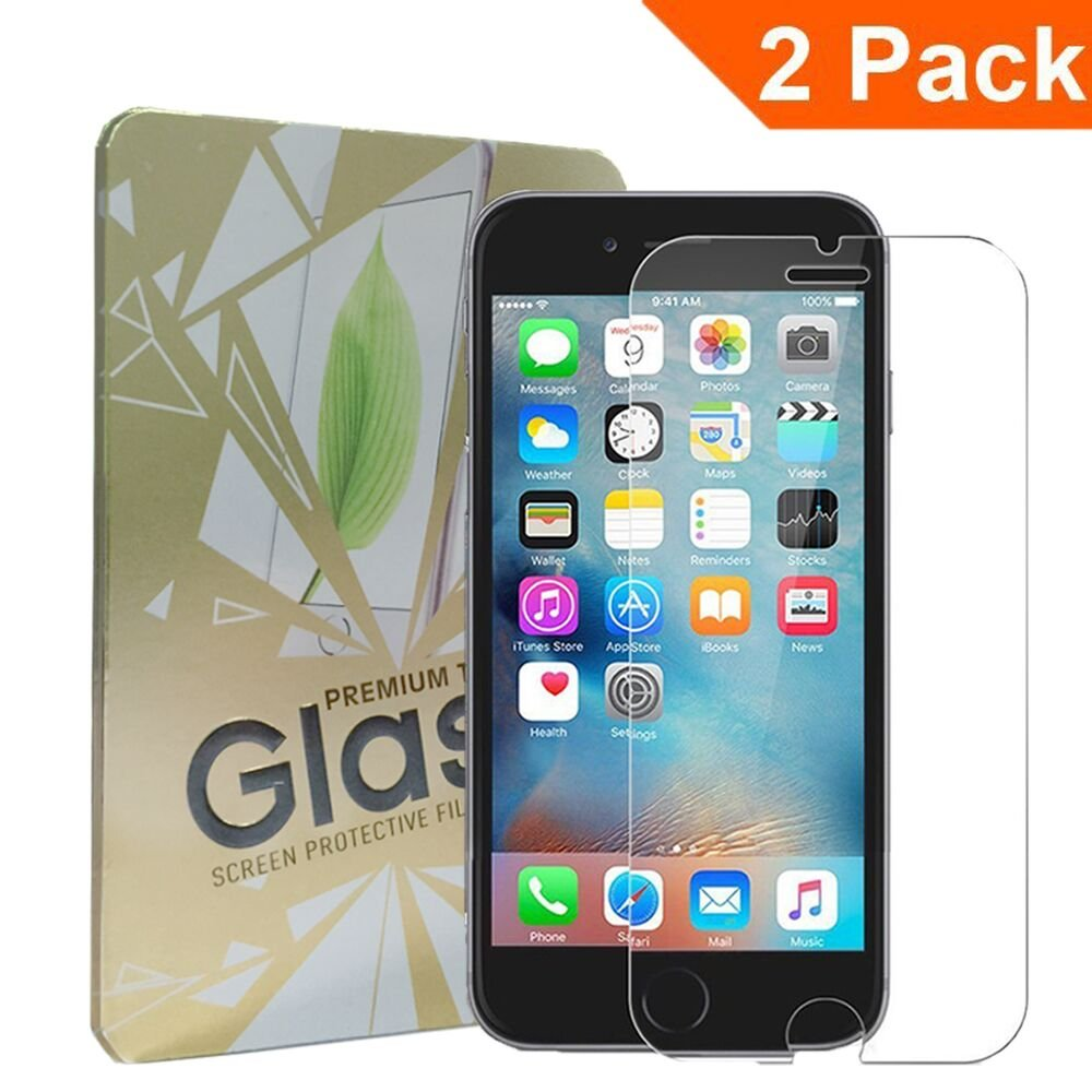 (2Pack)(Lifetime Warranty)iPhone 6S Screen Protector,OuTera 3D Touch Compatible - Tempered Glass iPhone 6S/6 Glass Screen Protector Work with iPhone 6 / iPhone 6S / Most Protective Case