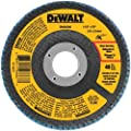 DEWALT DWA8206 40 Grit Zirconia T27 Flap, 4-1/2-Inch X 7/8-Inch