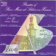Rarities of Piano Music 1992: Live Recordings from the Husum Festival