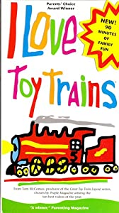 amazoncom i love toy trains 13 vhs various movies amp tv