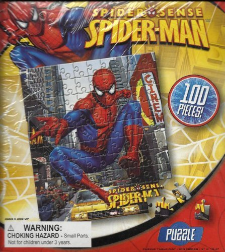 Spiderman Spider Man Spider Sense Puzzle 100 Pieces by Best Brands - 1