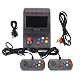 Baosity 4.3 Inch Retro Arcade A8 Gaming Console Machine Supports up to 32G TF Card Expansion , Built-in 3000 Classic Games 16G