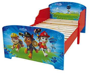 PAW Patrol : Children Bed - Kids Bedroom Furniture