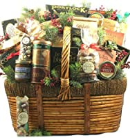 Gift Basket Village The Grandest of Them All Deluxe Holiday Gift Basket