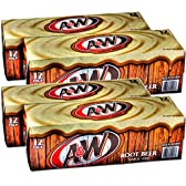 A&W ルートビア (A&W Root Beer) 355ml×24缶入×2ケース 炭酸飲料