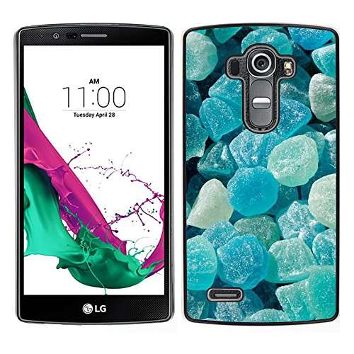 iBinBang / Slim Design Hard Sanp Case Cover - Crystal Meth Rocks Candy Blue Beach - LG G4