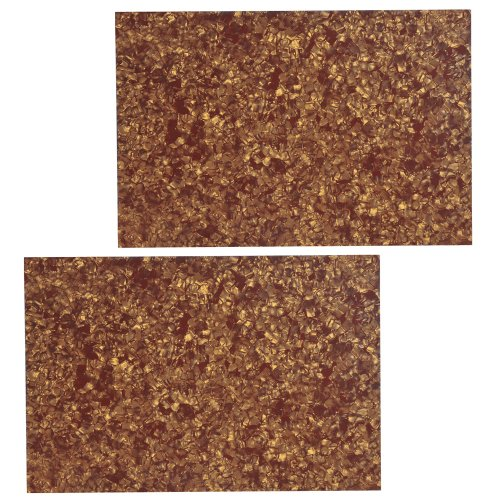 2Pcs Cinnamon Pearl 3Ply 430Mmx290Mm Blank Scratch Plate Sheet Diy Guitar Bass Pickguard Material
