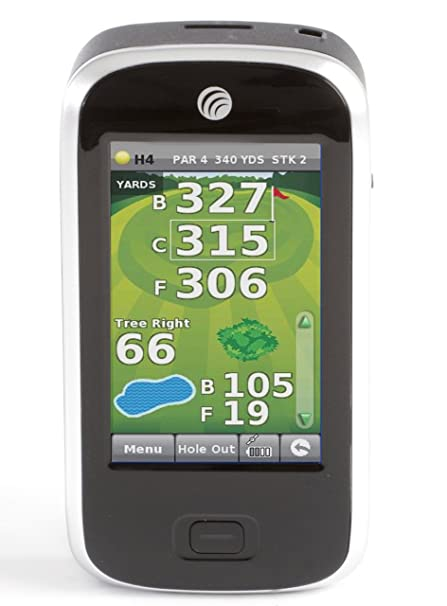 Snooper Shotsaver S320 EU XI GPS de golf Noir