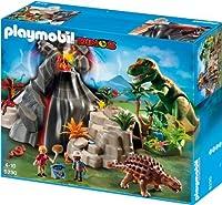 Volcano with Tyrannosaurus by Playmobil