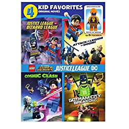 4 Kid Favorites:Lego Dc Super Heroes