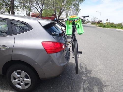 Bike Racks For Suv >> Allen Sports Ultra Compact Folding 1-Bike Trunk Mount Rack ...