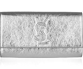 Amazon.com: Yves Saint Laurent YSL Belle du Jour Metallic Silver ...