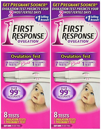 First Response Ovulation 7 Ovulation Test Plus 1 Pregnancy Test (2 Pack) - 1