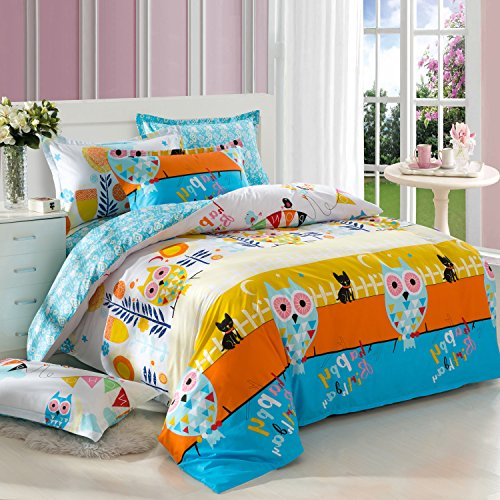 Full Size Owl Bedding 7736 front