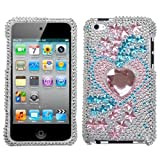 MYBAT Unique Diamante Protective Case for iPod touch 4 (Star Track)