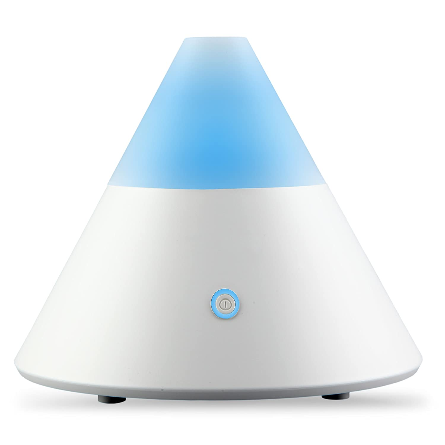 Best Essential Oil Diffuser Pyramid Electric Air Mist Aroma Humidifier  #1578B6