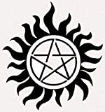 Supernatural Pentagram Tattoos SET OF FIVE - Search for other packages