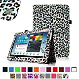 Fintie Slim Fit Folio Case Cover for Samsung Galaxy Tab 2 10.1 inch Tablet - Leopard Rainbow