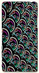 Stunning multicolor printed protective REBEL mobile back cover for Sony Xperia Z1 C6902/L39h D.No.N-R-6168-S39
