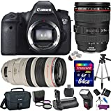 Canon-EOS-6D-202-MP-Digital-SLR-Camera-w-EF-24-105mm-f4L-IS-USM-Lens-EF-100-400mm-f45-56L-IS-USM-Lens-Premium-Bundle