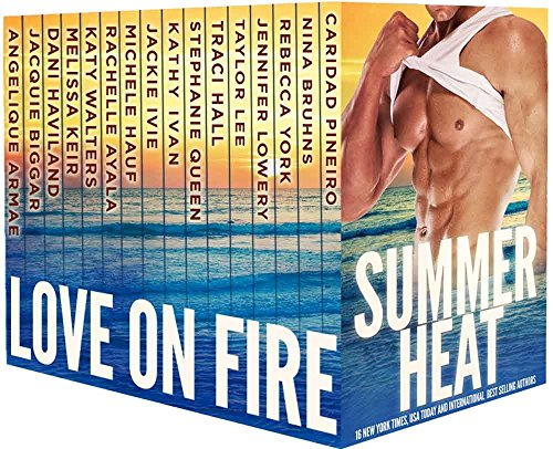 Can you feel the heat? Curl up for an unforgettable boxed set of passion, steamy nights, adventure, and suspense…  Summer Heat – Love on Fire: 16 Contemporary Romances