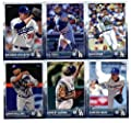 2015 Topps Baseball Cards Los Angeles Dodgers Team Set In Storage Case (Series 1 & 2 - 22 Cards) Including Andre Ethier, Clayton Kershaw, Yimi Garcia, Joc Pederson, HyunJin Ryu, Zack Greinke, Matt Kemp, Brandon League, Carl Crawford, Clayton Kershaw, Adri