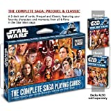 Star Wars the Complete Saga Playing Cards- 2 Decks