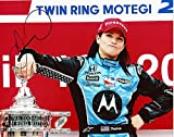 AUTOGRAPHED Danica Patrick 2008 Indy Car Series JAPAN 300 WIN Victory Lane Trophy (Motorola) Signed 8X10 NASCAR Glossy Photo with COA