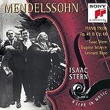 echange, troc  - Mendelssohn : Trios pour piano Op. 49 et Op. 66