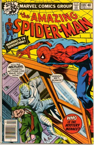 Amazing Spider-Man, The No. 189 (Who is the Mystery Menace?) (Amazing Spiderman 189 compare prices)