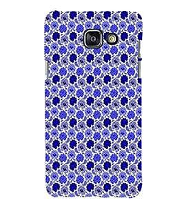 EPICCASE bling flowers Mobile Back Case Cover For Samsung Galaxy A5 (Designer Case)