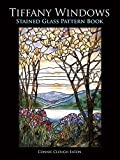 img - for Tiffany Windows Stained Glass Pattern Book (Dover Stained Glass Instruction) book / textbook / text book
