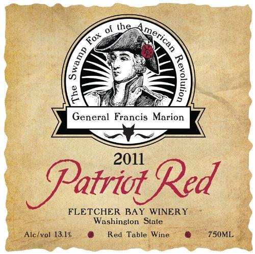 2011 Washington State Patriot Red 750Ml