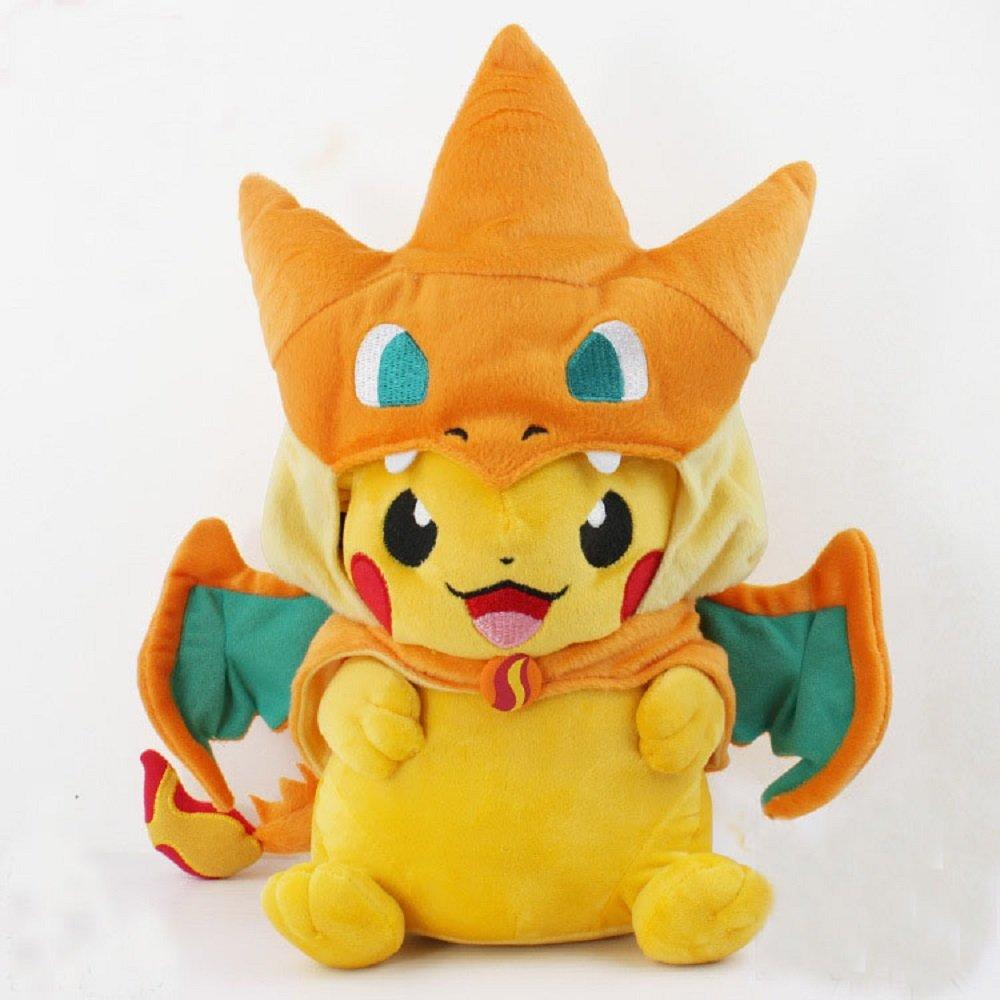 Pokemon Center Mega Tokyo Pikazard Pikachu Charizard Plush Toys Doll Y