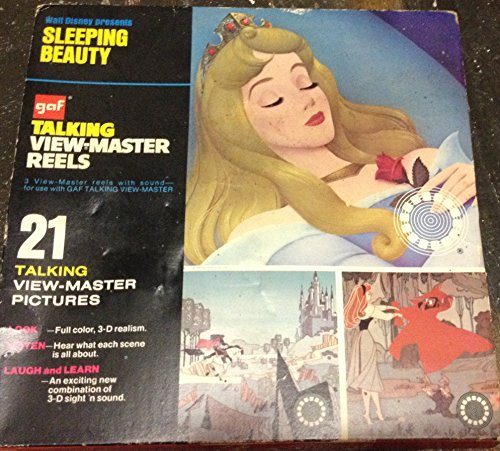 Sleeping Beauty GAF Talking View Master Reels - 1
