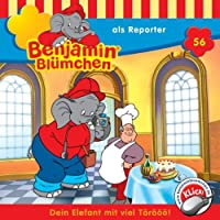 Benjamin als Reporter (Benjamin Blümchen 56) Hörbuch